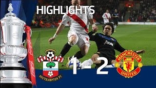 Southampton 1-2 Man Utd | The FA Cup 4th Round - 29/01/11