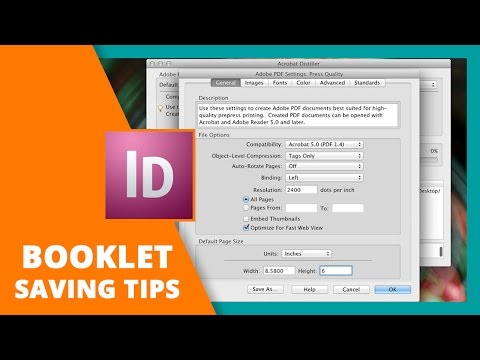 Common Issues with Adobe Distiller and Booklets Explained | DESIGN LIKE A PRO