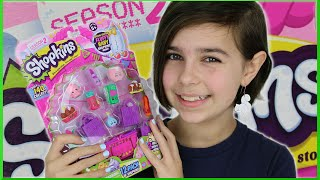 Shopkins Season 2 - 12 Pack Surprise Toy Opening PT2 - Fluffy Baby
