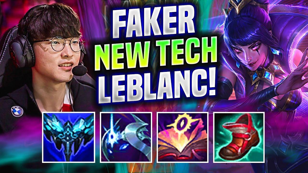 FAKER TRIES THIS NEW LEBLANC TECH! - T1 Faker Plays Leblanc Mid vs Yasuo!   Worlds Bootcamp EUW