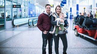 Facile de voyager avec un bébé de 5 mois? - Vlog La Famille M S1 E16