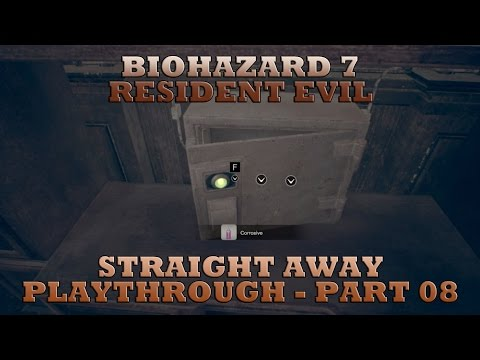 Biohazard 7 Resident Evil - Part 08 - Ship's Safe Box - The Real Bakers - Straight Away Playthrough