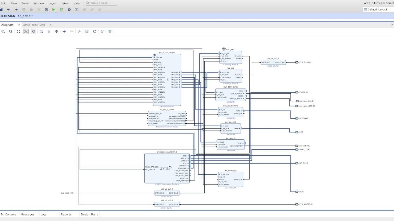 VHDL Testing Platform - Digilent Projects