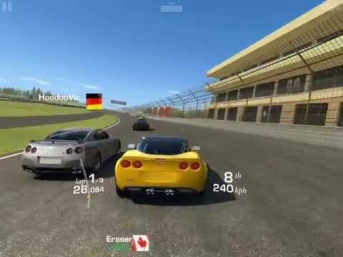 [iOS] Real Racing 3  Chevrolet Corvette ZR1, Cup (Speedway), Drag Race