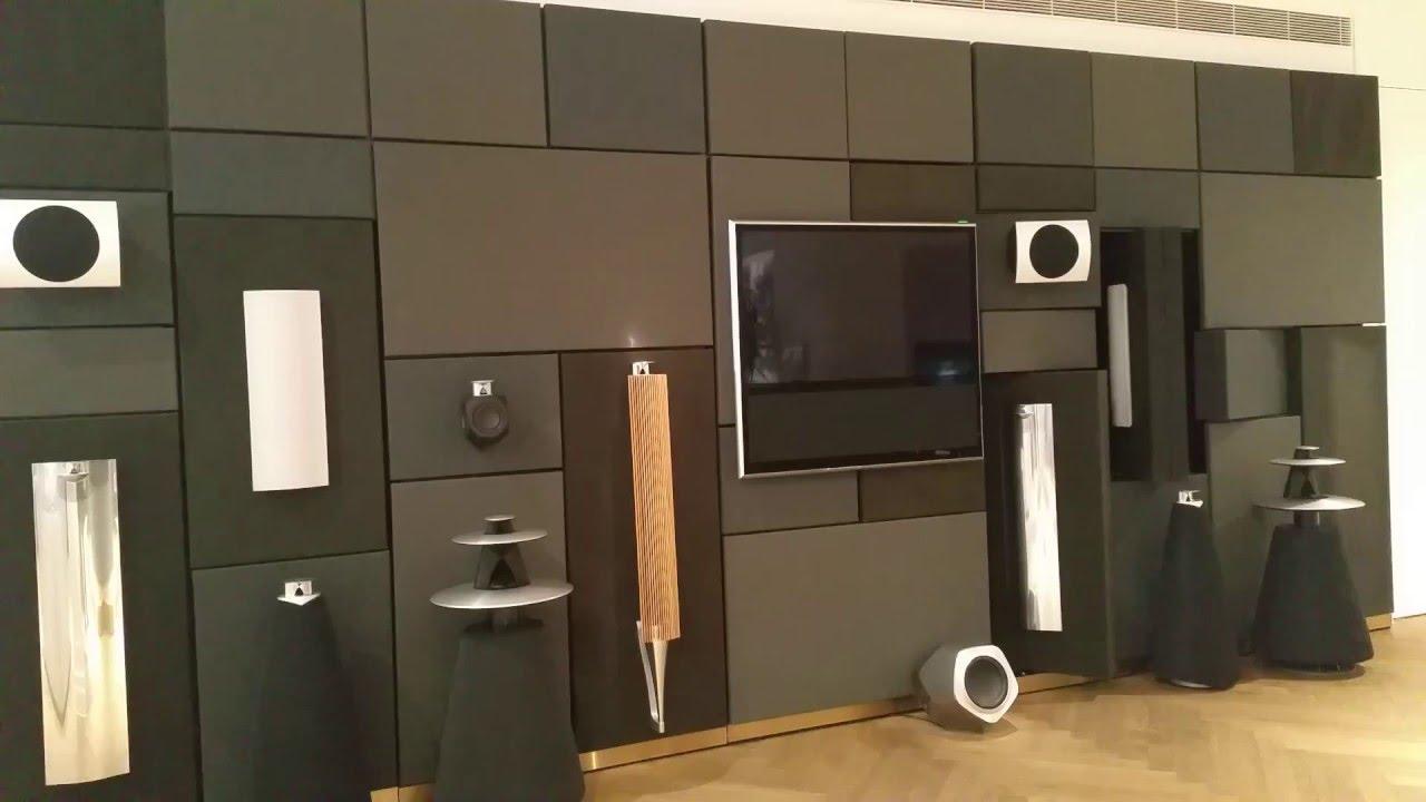 Bang Amp Olufsen Speaker Wall Youtube