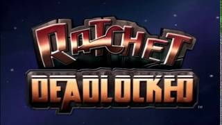 Ratchet: Deadlocked/Gladiator - Game intro and demo reel