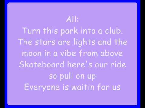 Hannah Montana Ft.  Jonas Brothers - We Got The Party With Us (Lyrics)