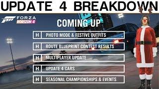Forza Horizon 4 | Update 4 Breakdown - Mitsubishi, Photo Mode, New Cars, Fortune Island And More!