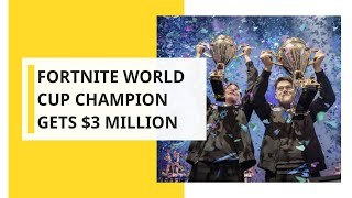Fortnite World Cup: 16-year-old wins ultimate battle royale, gets $3 million prize money