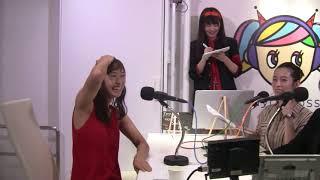 渋谷クロスFM「アーティスト応援部」 即興ソングは 3:35 から フォンチ...