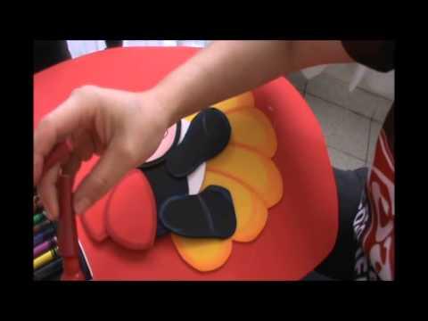 Juego de Baño en Fomy Goma Eva - YouTube