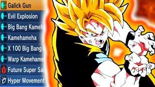 FULL WARPED THEMED MOVESET | Dragon Ball Xenoverse 2
