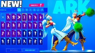 *NEW* ARK ANGEL SKIN With 50+ EMOTES & NEW LEAKED EMOTES SHOWCASE! Fortnite Battle Royale