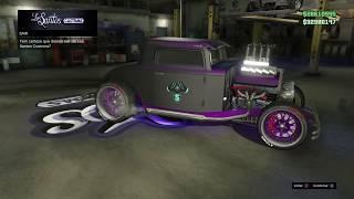 GTA V ONLINE - Tunando o carro novo (Hustler)