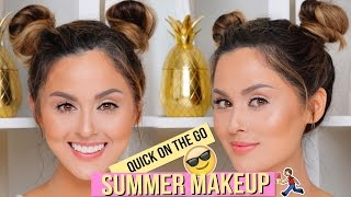 Natural Summer Makeup Tutorial No Lashes