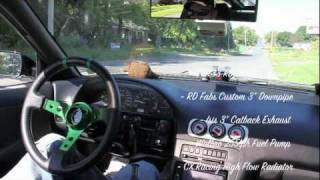 240sx RB25DET In Car Test