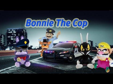 Fnaf Plush-Bonnie the Cop!!!!