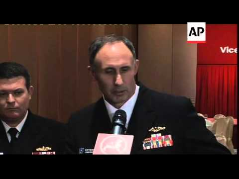 Speech by US Seventh Fleet Commander, comments on China