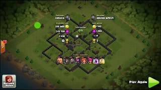 Clash Of Clans Deadly Attack Combinations & Valkyrie Giant Capable Of Leveling Base Opponents
