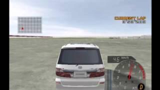 PS2 ENTHUSIA アルファードのキックダウン