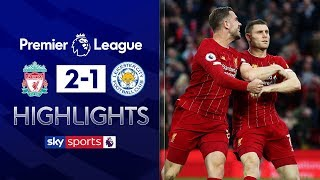 Milner scores last minute penalty! | Liverpool 2-1 Leicester | Premier League Highlights