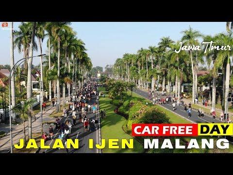 car-free-day-(cfd)-jalan-ijen-kota-malang---suasana-aslinya-seperti-ini..
