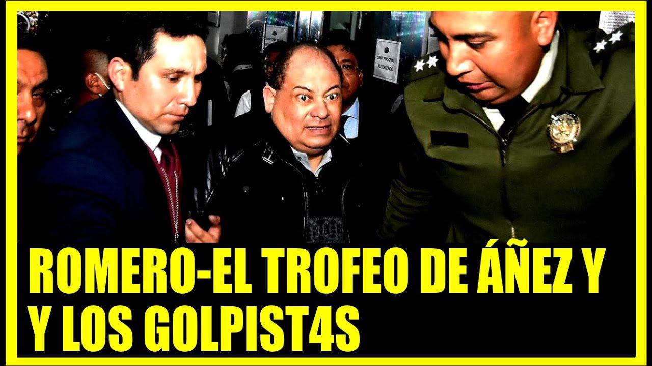 Habla ExMinistro Romero el trofeo de Áñez y los gol-pist4s