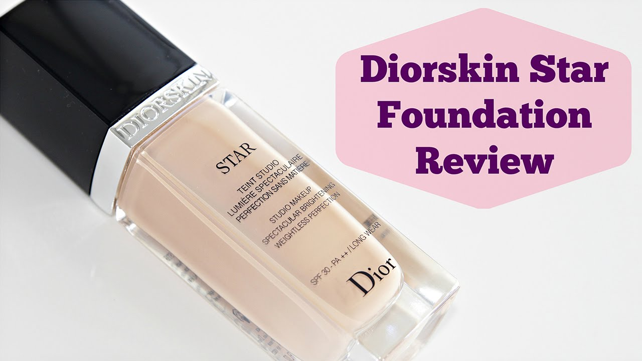 Dior Star Foundation Review - YouTube