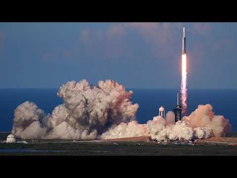 SpaceX Falcon Heavy Arabsat-6A Speed Ramp