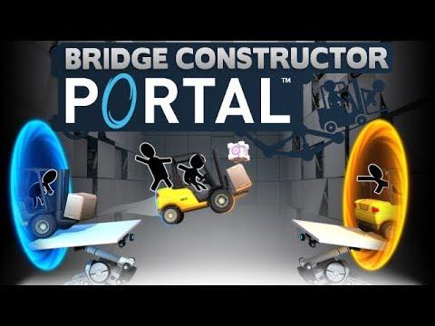 Bridge Constructor Portal - The Acid Test