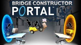 Bridge Constructor Portal - The Acid Test