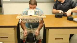 Wood Bridge Holds 135lbs
