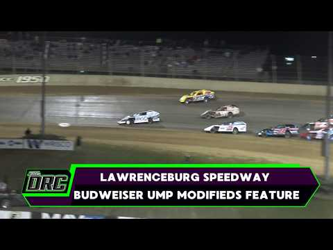 Lawrenceburg Speedway | 8/26/17 | Budweiser UMP Modifieds | Feature