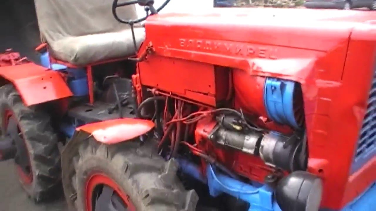 Самодельный трактор ,редуктор заднего моста(часть №1) - YouTube