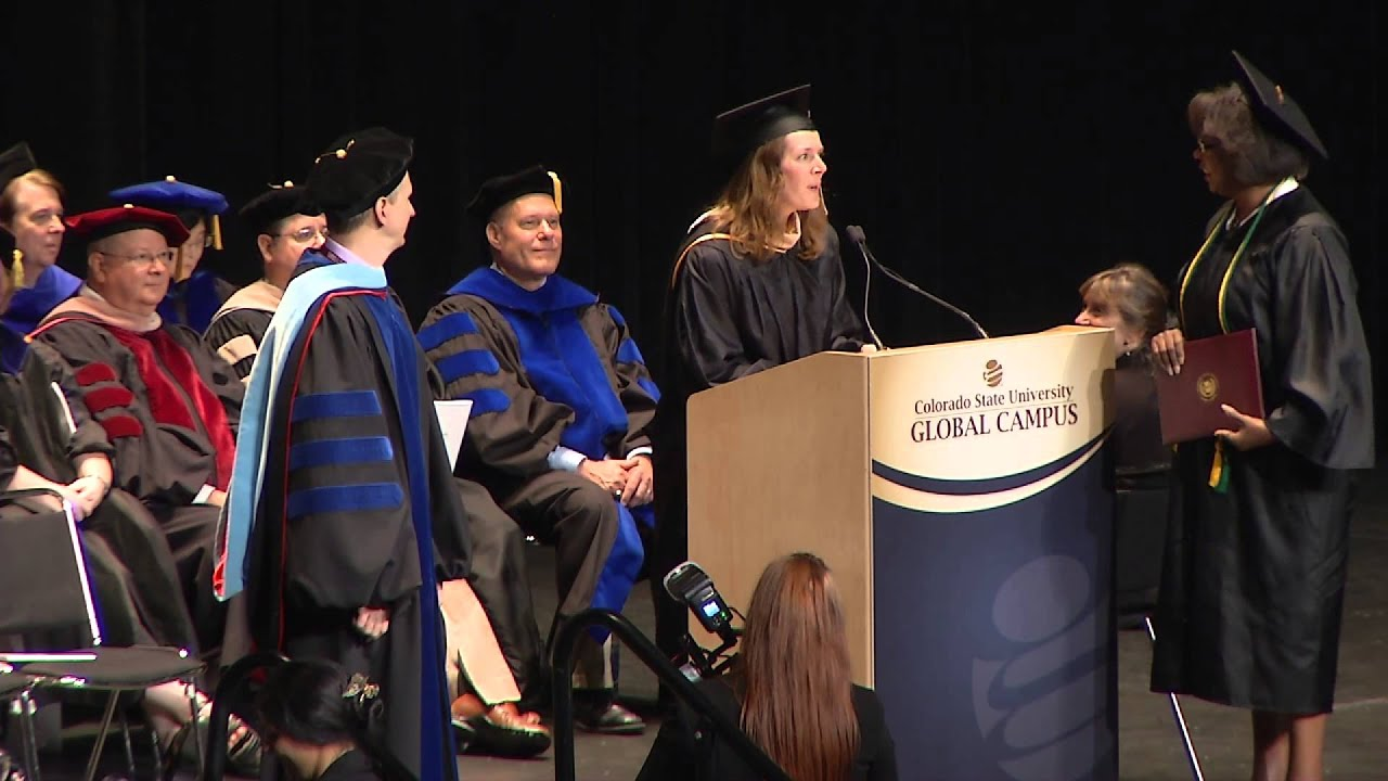 CSU Global 2015 Commencement Ceremony in HD - YouTube
