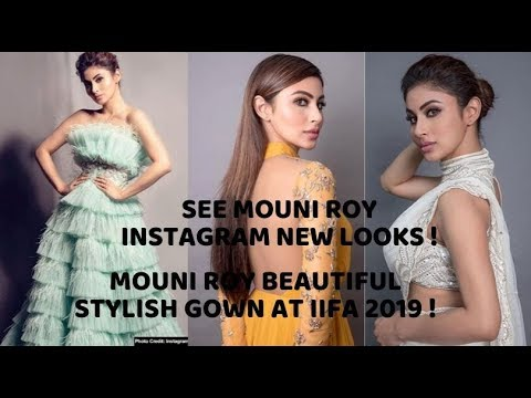 Mouni roy look so stunning on her new instagram pic । Mouni Roy beautiful stylish gown at IIFA 2019 Your Videos on VIRAL CHOP VIDEOS
