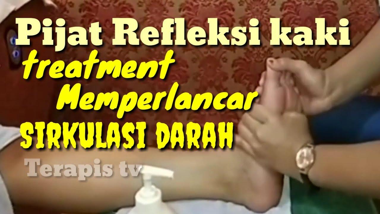 Belajar cara melancarkan sirkulasi darah | Refleksi kaki