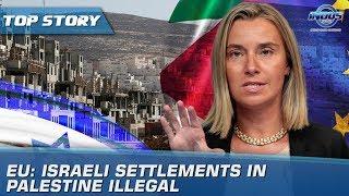 EU: Israeli Settlements In Palestine Illegal | Indus News