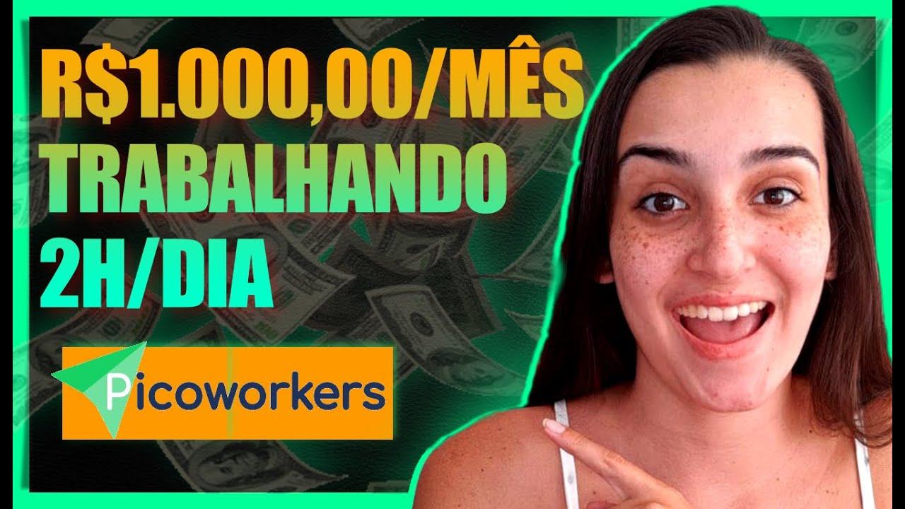 Picoworkers | Melhor Site De Micro tarefas Para Ganhar Dinheiro No Paypal