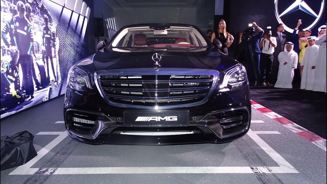 Official launch of the 2018 mercedes benz s63 amg 4matic for Mercedes benz qatar