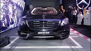 Official Launch of the 2018 Mercedes Benz S63 AMG 4Matic+ in Qatar
