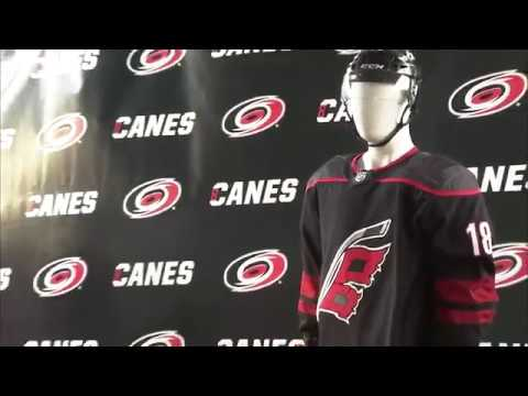 Carolina Hurricanes unveil new uniform for the 2018-19 NHL season