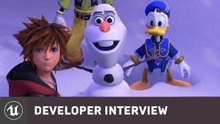 Kingdom Hearts III by Square Enix | E3 2018 Developer Interview | Unreal Engine