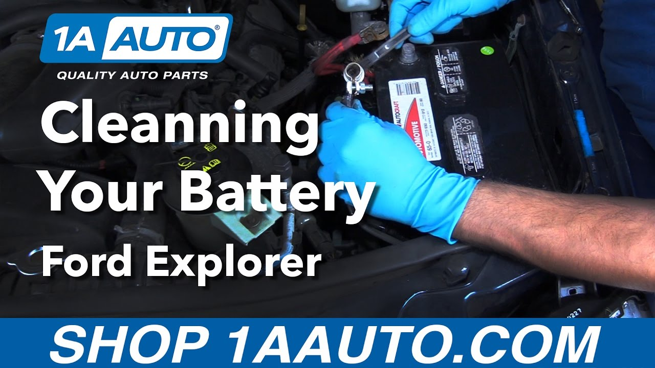 How to clean battery 2006 ford explorer buy quality auto parts from 1aauto com