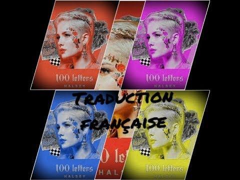halsey-100-letters-traduction-française