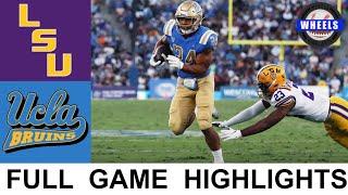 #16 LSU vs UCLA Highlights   College Football Week 1   2021 College Football Highlights