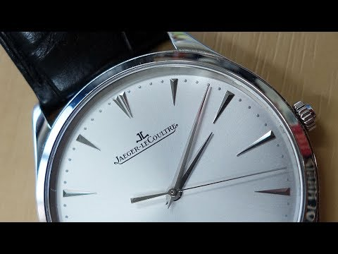Haute Horlogerie! Jaeger LeCoultre Master Ultra Thin Date Review (1288420) - Perth WAtch #61