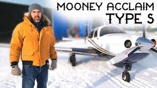 Обзор Mooney Acclaim Type S - Самый Быстрый В Своем Роде!