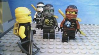 LEGO Ninjago Dawn Of The Pirates Episode 54-Quest For The Tiger Widow!
