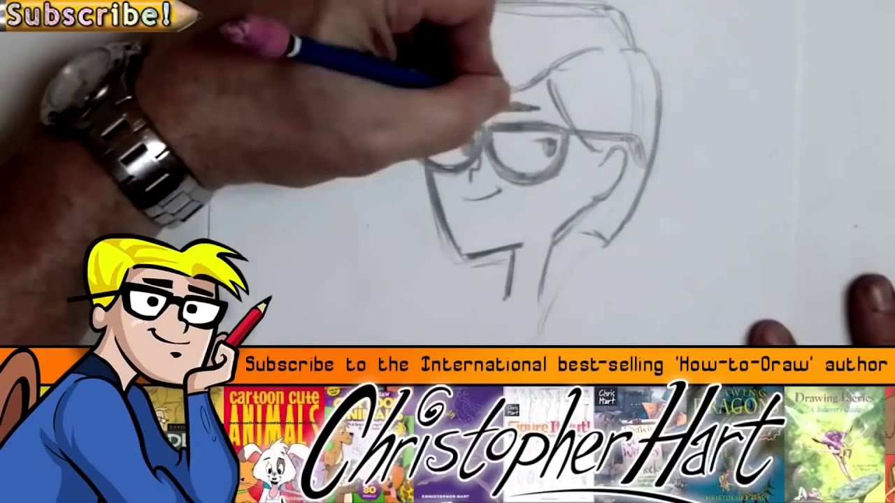 How To Draw Channel With Christopher Hart Youtube